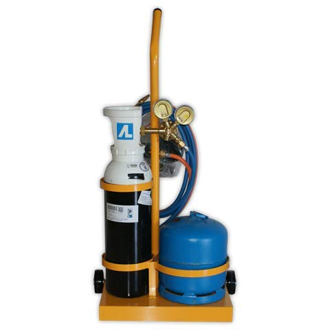 DOJA Industrial | Equipo soldadura BUTA-5 oxi-butano | Autogenas 5l (Oxigeno) 2.8l (Butano)