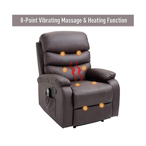 Heatede Manual Massage Reclinertl