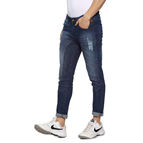 Campus Sutra Men Cut and Sew Denim Jeans