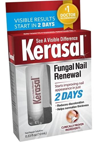 Fungal Nail Renewal, Restores Appearance of Discolored or Damaged Nails, 1 Box (0.33 fl oz)