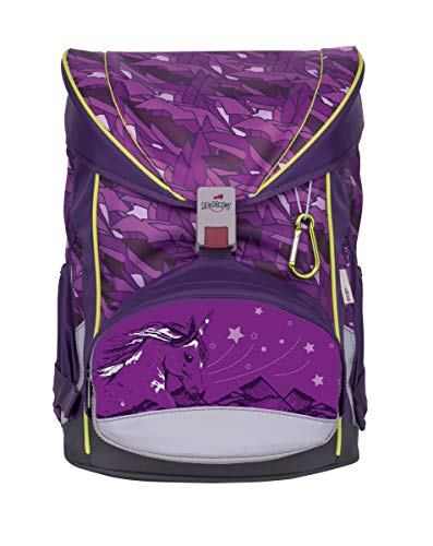 DerDieDas ErgoFlex Exklusiv Switch Schulrucksack Set 7 tlg. Switch Girl