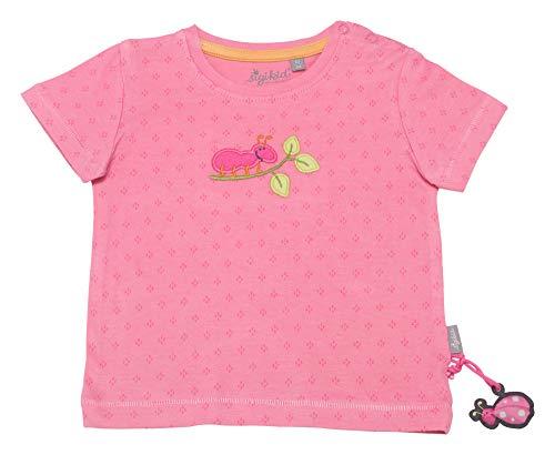 Sigikid Baby-Mädchen T-Shirt, Rosa (Aurora Pink 686), (Herstellergröße:74)