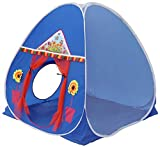 Homecute Foldable Popup Kids Play Tent House for 3 Year to 12 Years 110 x 110 x 120 cm -Blue