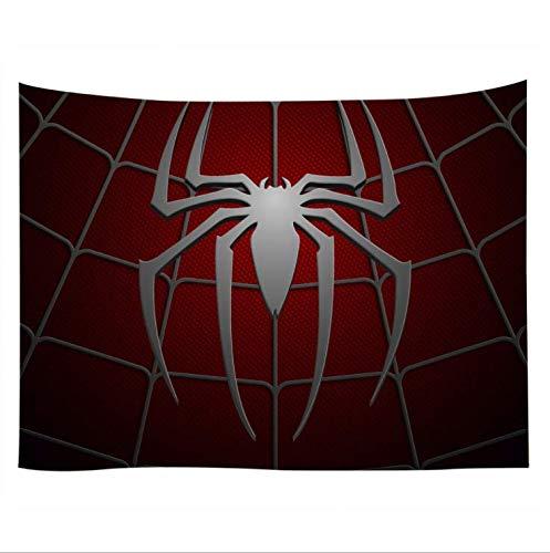 Avengers Tapiz Spiderman Paño de pared Paño de pared Paño de pared Decoración de pared Dormitorio Sala de estar Tapiz de tela de pared Tapiz de Spider-Man Tapiz para colgar en la pared para
