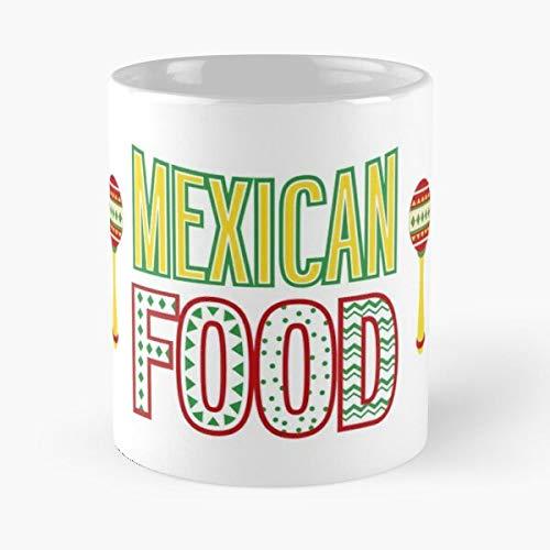 Argentwork Mexico Food Tortilla Chilango Donkey Taco Mexican Burrito Best 11 oz Kaffeebecher - Nespresso Tassen Kaffee Motive
