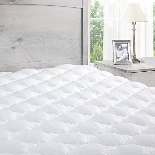 Pillowtop Mattress Topper with Fitted Skirt - Extra Plush...