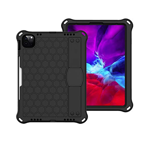 JIANWU Cover, For iPad Pro 11 inch (2020 & 2018) Case,Shockproof Duty Rugged Full Body Protection Handle Kickstand Stand Cover Cases,for iPad Air 10.9' 4th Gen 2020,with Shoulder Strap +Pen Holder