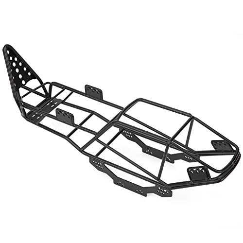 RC Roll Cage, Metal RC Frame Body Chassis Upgrade Part Compatible with Axial SCX10 1/10 RC Car Crawler
