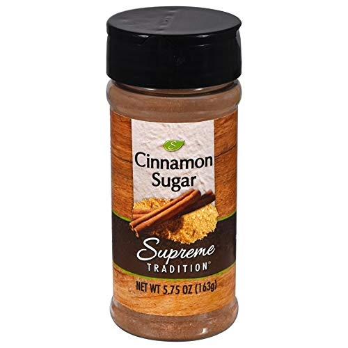 Supreme Tradition Cinnamon Sugar 5.75 Oz. Ranking sale TOP17 -