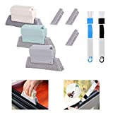 Window Groove Cleaning Brush Set, Bestylez Magic Window Track Cleaning Tools