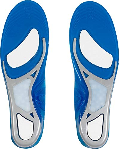 Intersport Einlegesohle Running, Zapatos. Unisex Adulto, gris, azul real, Wh, 41