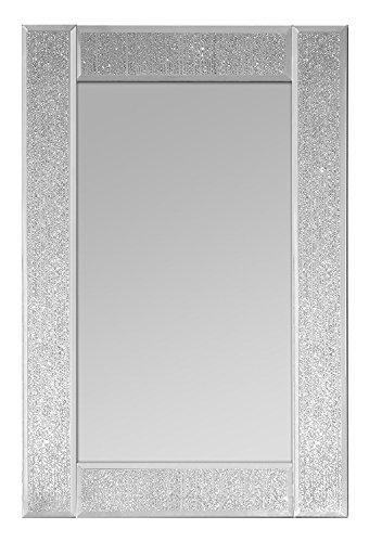 Innova Specchio da Parete Rettangolare, Argento