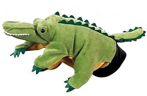 Beleduc - 40259 - Marionnette À Mains - Crocodile