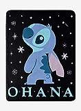 Disney Lilo & Stitch Space Ohana Throw Blanket MULTI One Size
