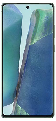 Samsung Galaxy Note 20 (Mystic Green, 8GB RAM, 256GB Storage) with No Cost EMI/Additional Exchange Offers
