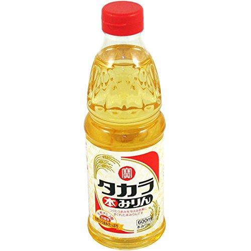 Hon Mirin (der Echte) 13 % Alc. Reiswein zum Kochen, Süßer Kochreiswein, 500ml Honmirin aus Japan