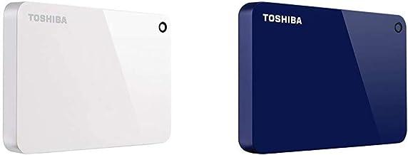 Toshiba Canvio Advance 2TB Portable External Hard Drive USB 3.0, White (HDTC920XW3AA) & Toshiba Canvio Advance 2TB Portabl...