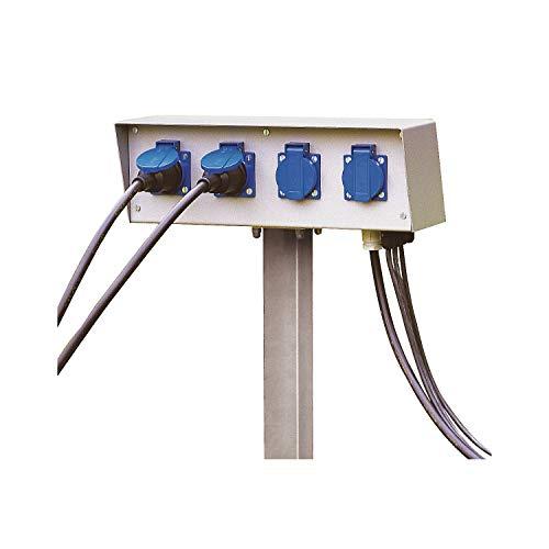 Slv - Kit energia 4 cjas.enchufe protección 230v/16a