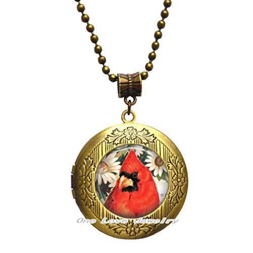 Ni36uo0qitian0ozaap Cardinal Jewelry - Collar con colgante de pájaro, diseño de pájaro y cardenal, regalo cardenal, TAP345