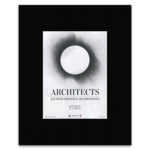 Kerrang Mini-Poster Architects All Our Gods Have Abandoned US, 40,5 x 30,5 cm