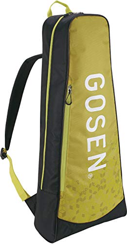 ゴーセン(GOSEN) テニス バドミントン ラケットバッグパック Athlete2 テニスラケット2本用 ライムイエロー BA19AR2