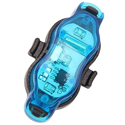 Uayasily Ruedas De Bicicleta De La Bici Enciende Impermeables Rim Luces/Luces del Rayo De USB Recargable Impermeable Led De Advertencia De Seguridad De Ciclo De La Bici Habló Decoración Azul Claro
