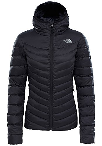 North Face W TANKEN Insulated Hooded Jacket - Chaqueta, Mujer, XS, Negro