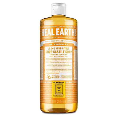 Dr. Bronner's Citrus Orange Flüssigseife 944 ml - Naturseife