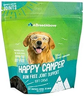 A Breed Above: Happy Camper Run Free Joint Supplement