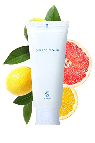 Fleuri Deep Pore Cleanser Clear Gel Cleanse Face Cleanser For Women - Makeup Remover Japanese Skin Care - 5.1 fl oz   150ml