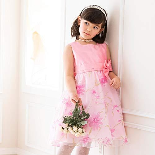 キャサリンコテージ『お姫様柄プリントのオーガンジープリンセスドレス(cc0315)』