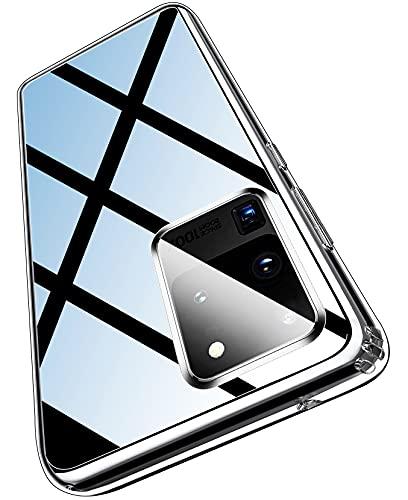 ykooe Transparent Series für Samsung Galaxy S20 Ultra Hülle, Ultra Dünn Durchsichtige Handyhülle für Samsung Galaxy S20 Ultra (Klar)