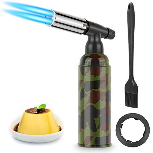RenFox Antorcha de Cocina, Soplete Antorcha de Llama Ajustable