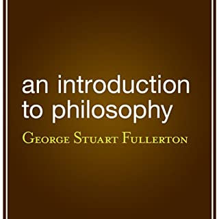An Introduction to Philosophy cover art
