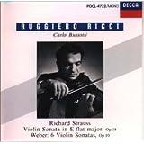 R.シュトラウス/ヴァイオリン・ソナタ 変ホ長調、Op.18