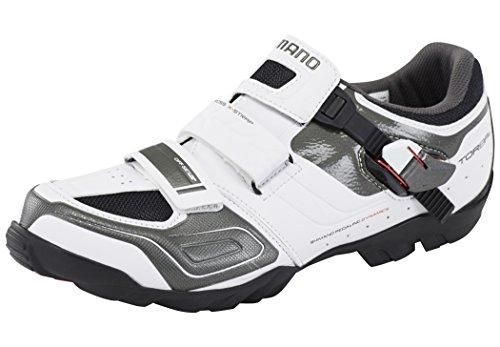 SHIMANO SHM089G400W, Scarpe da Ciclismo su Strada Unisex-Adulto, Bianco, 40 EU