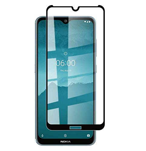 KC PRODUCTS 6D/11D Edge to Edge Tempered Glass Screen Protector Compatible with Nokia 6.2/7.2 with Easy Installation kit