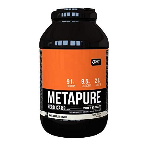 QNT Metapure Zero Carb Whey Isolate Cioccolato Bianco - 2kg