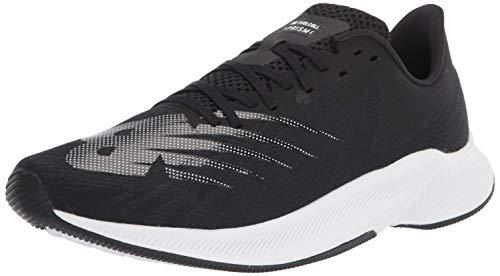 New Balance Men#039s FuelCell Prism V1 Running Shoe Black/White 9 Wide