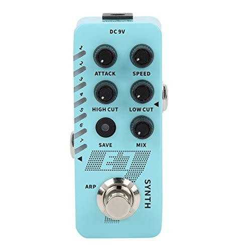 Synth Gitarrenpedal M702 Synthesizer mit polyphonen Effekten 7 Typen Benutzerdefinierte Töne Arpeggiator-Modus E7 für Gitarrenzubehör