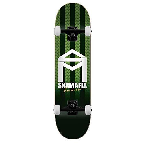 SK8 Mafia Skateboards Kremer House Stripe Skateboard completo 21 cm