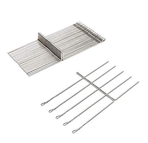F270 Strickmaschinennadeln für Singer/Silber/Knitmaster Strickmaschine, 50 Stück