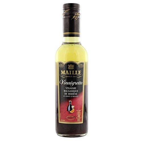 Maille Vinaigrette mit Balsamico Essig und Orange