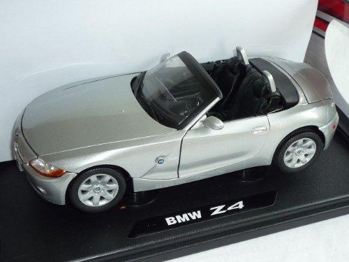 B-M-W E85 Z4 Z 4 Cabrio Silber 2002-2008 1/18 Motormax Modellauto Modell Auto