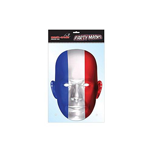 Masque en Carton France - Taille Unique