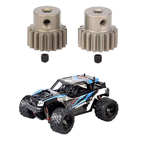 LZP-PP 3 PC-Zubehör: 1 Paar 32DP 3.175mm 17T Pinion Motor Gear & 1 PC HS 18312 18.01 2.4G 4WD High Speed Big Foot RC-Rennwagen-Geländewagen Spielzeug