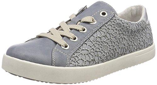 Rieker Kinder Mädchen K5205 Sneaker, Blau (Adria/Jeans), 38 EU