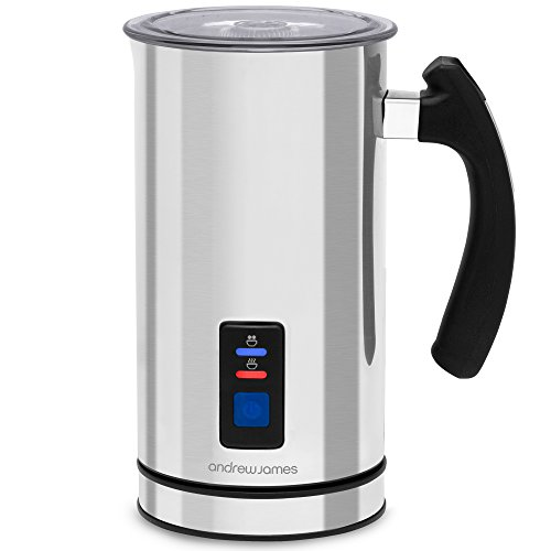 Andrew James Electric Milk Frother & Heater Warmer Jug Machine | 2...