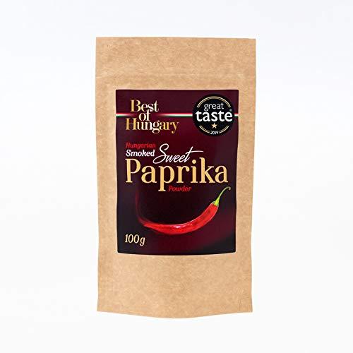 Paprika Dolce Affumicata Ungherese di Szeged 100g - Qualità Premium - Vincitore del Premio Great Taste