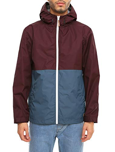 Iriedaily Auf Deck Anorak [red Wine]